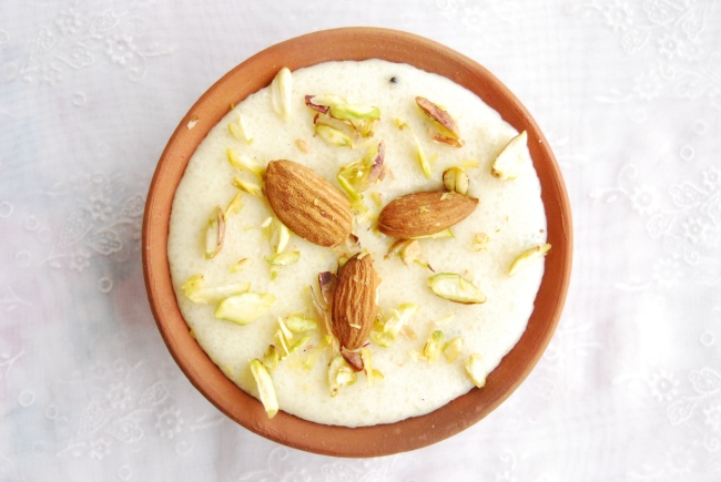 ... Phirni is an easy traditional Indian rice pudding. It is prepared with